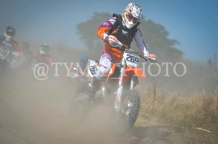 Determined to holeshot every race!