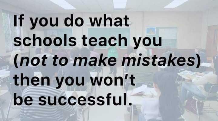Mistakes Are Key To Success!