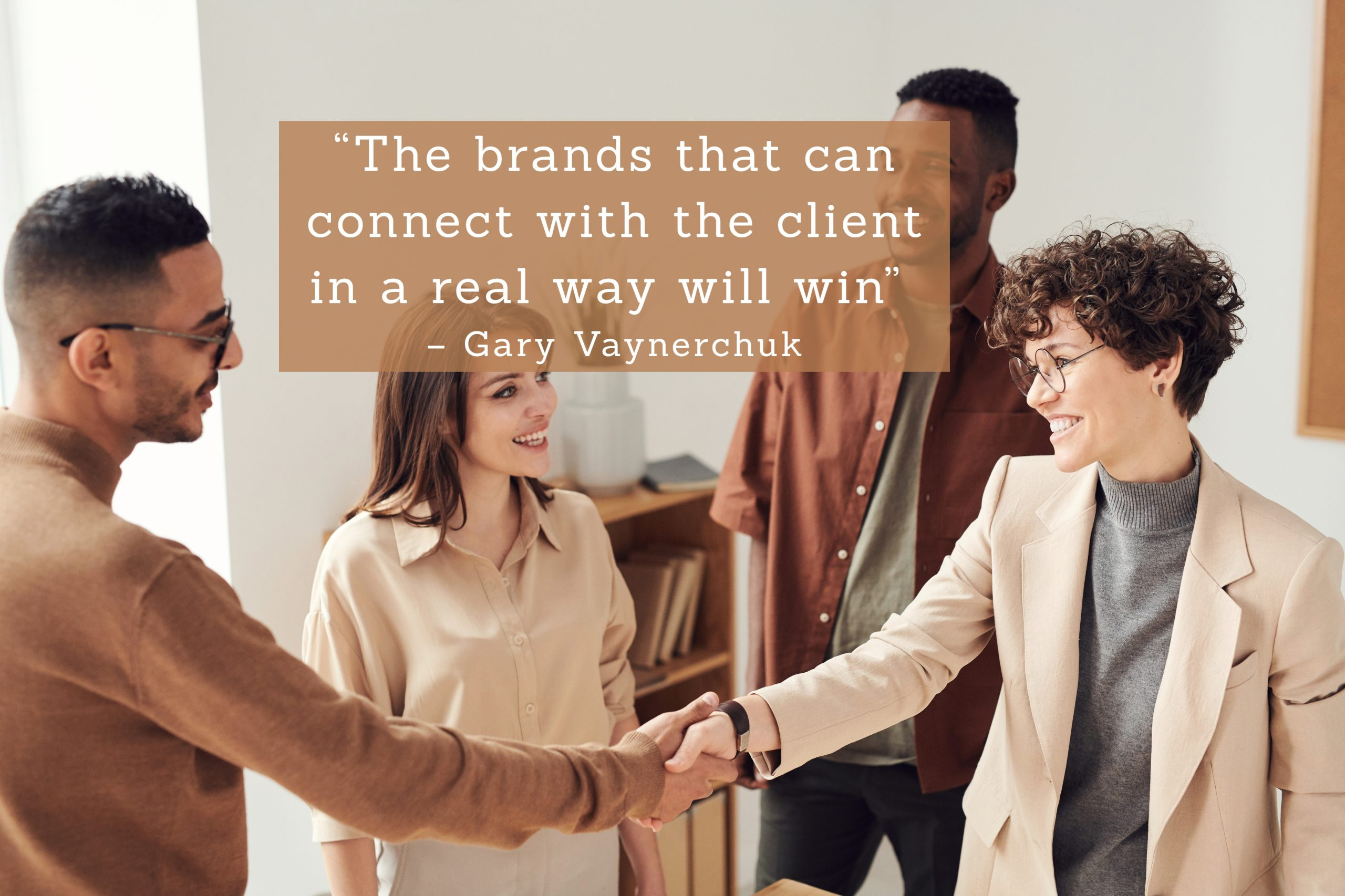 Connect with the client!