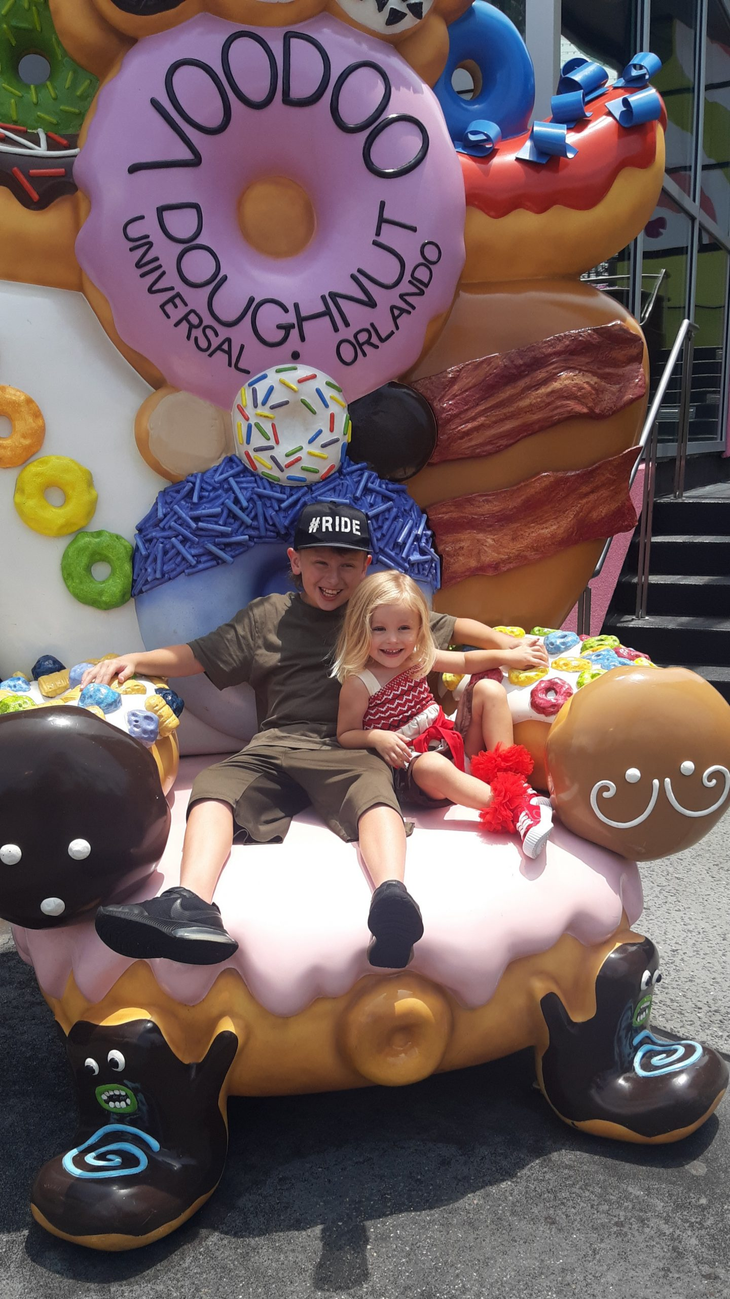 Ever have a Voodoo doughnut?